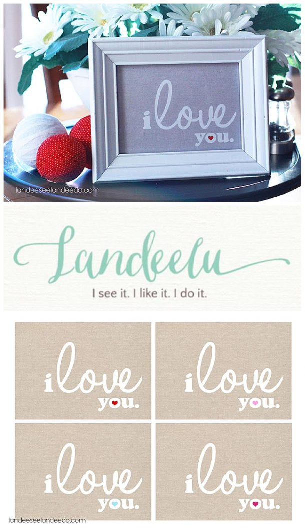 Cute FREE PRINTABLE for Valentine's Day or any time you want to spread some LOVE!