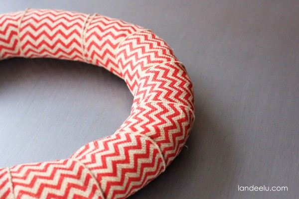 Simple Wood Wreath- how to