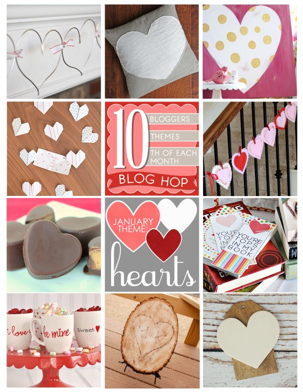 January Blog Hop Collage