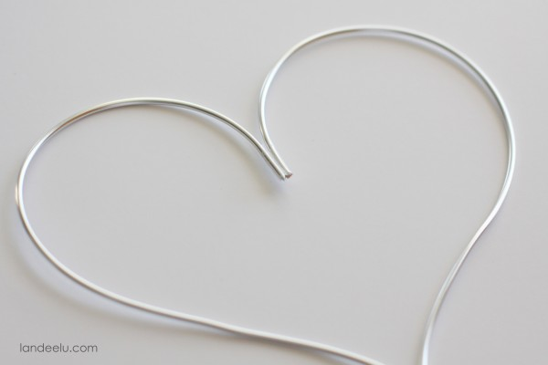 Valentines Day Garland tutorial