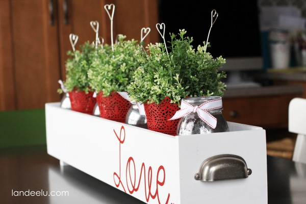cute and easy wire heart picks DIY