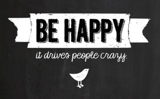 Be Happy Quote