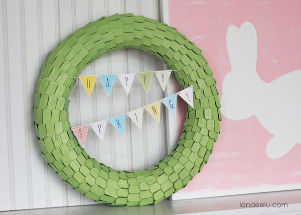 Free Printable Spring decor