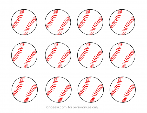 Gargantuan image within baseball printable