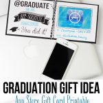 Graduation Gift Idea: App Store Gift Card Printable