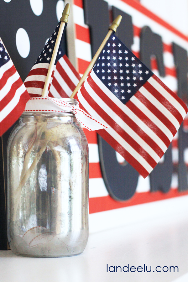 4th of July Mantel ideas