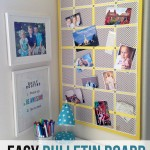 Easy Bulletin Board Makeover