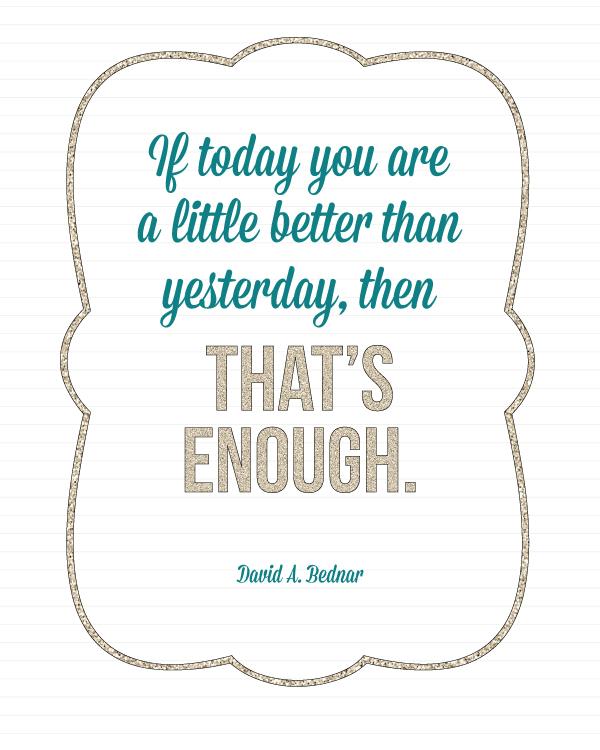 Love this quote!  Free printable at landeelu.com