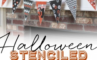 Halloween Banner from landeelu.com  Looks like a lot of fun to make!