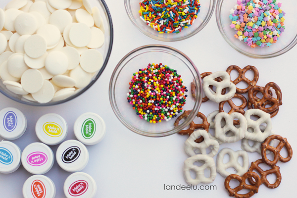 How To Make Monster Pretzel Treats | landeelu.com