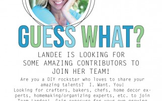 Join Team Landee and grow your own blog!