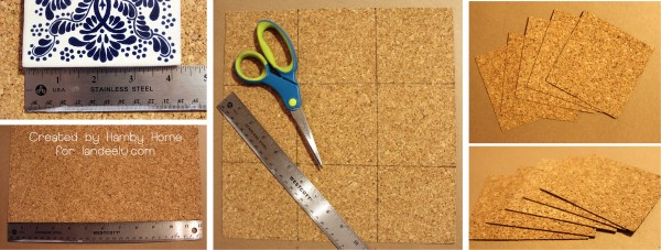 Tile Cork Backing