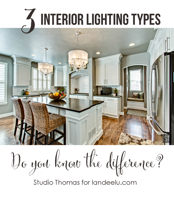 Interior Lighting Types: Do you know the difference?  | landeelu.com