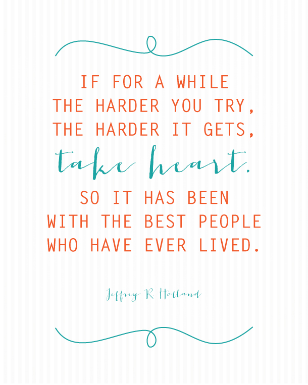 Great Jeffrey R. Holland Quote
