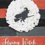 Flying Witch Wreath