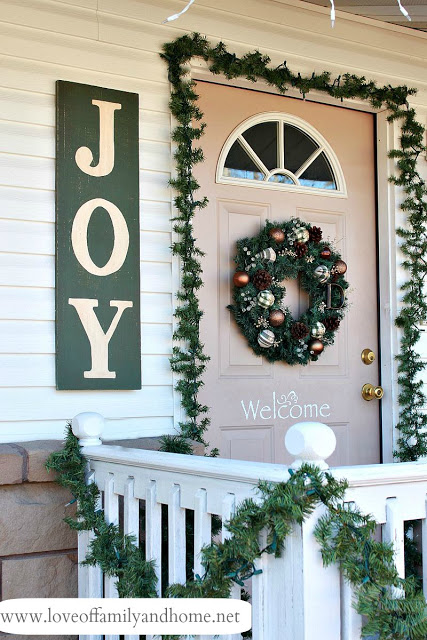 outdoor christmas signs ideas landeelucom - Joy Outdoor Christmas Decoration
