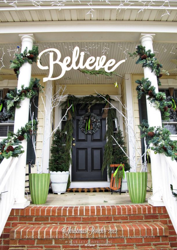 Outdoor Christmas Sign Ideas