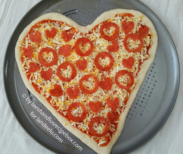Heart Shaped Pizza  (9)