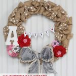 Valentine's Day Wreath and Mini Bunting