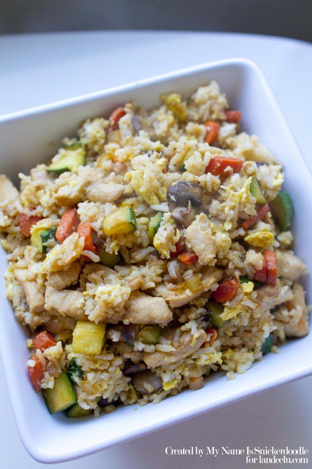Chicken-Fried-Rice-Easy-Recipe-Landeelu