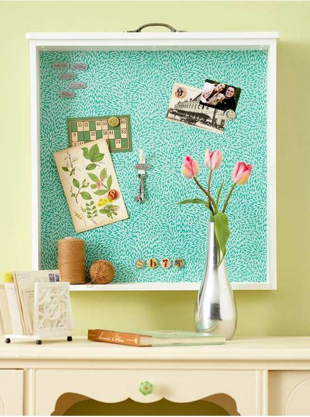 BHG drawer bulletin board