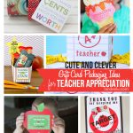 Teacher Appreciation: Clever Gift Card Holders