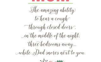 Mom Quote  | landeelu.com   Moms have so many amazing abilities!