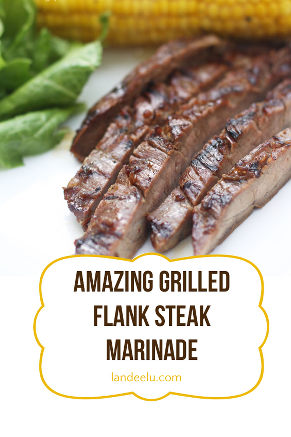 Flanksteak marinieren