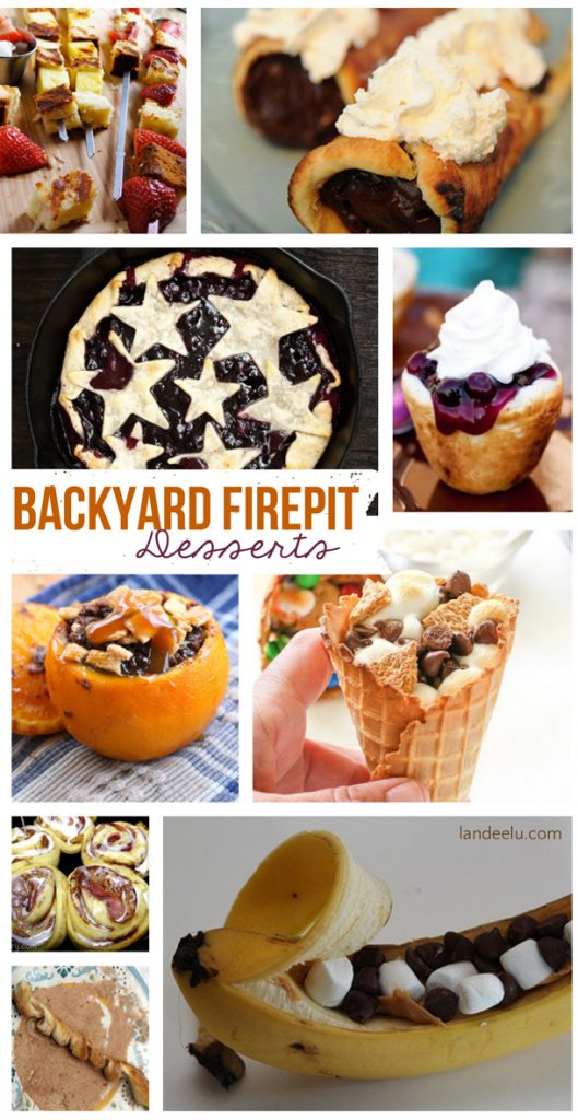 Backyard Firepit Desserts For Camping Too