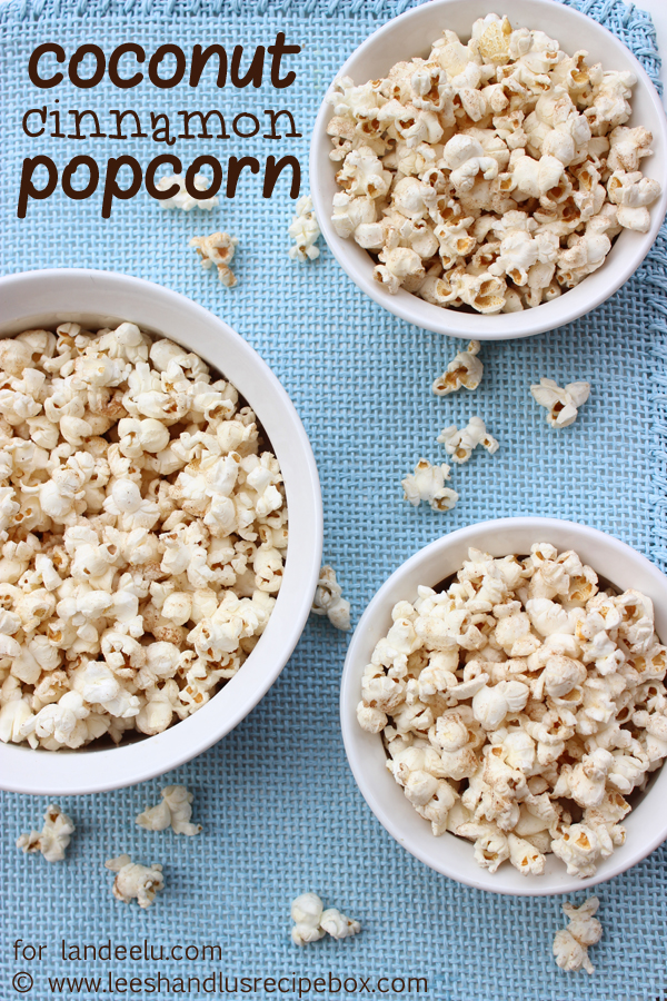 "I love that this is light and ""healthy"". I know it has sugar on it, but not much.  It's just enough to satisfy my sweet tooth without overindulging into something more sinful.  Coconut Cinnamon Popcorn Recipe 