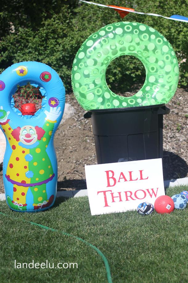 Cousin Carnival: Backyard Party Ideas! | landeelu.com