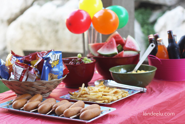 Cousin carnival summer activity idea would be perfect if you 39 re hosting a - Carnival foods ideas ...