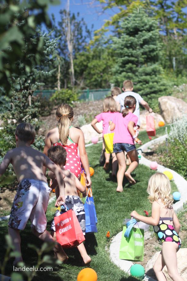 Cousin Carnival Summer Activity Idea