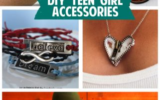 DIY Teen Girl Accessories | landeelu.com  A great collection of DIY accessories that teen girls would love to do!