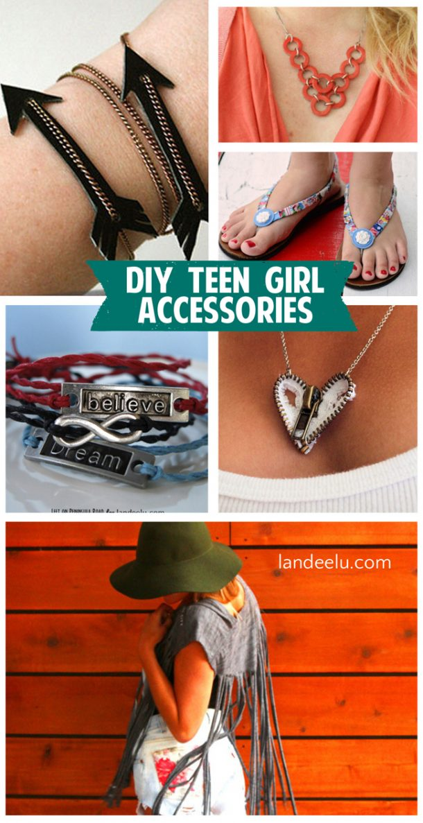 DIY Teen Girl Accessories | landeelu.com