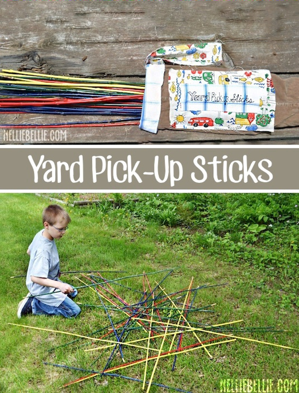 Yard Pick Up sticks by i heart naptime BEST