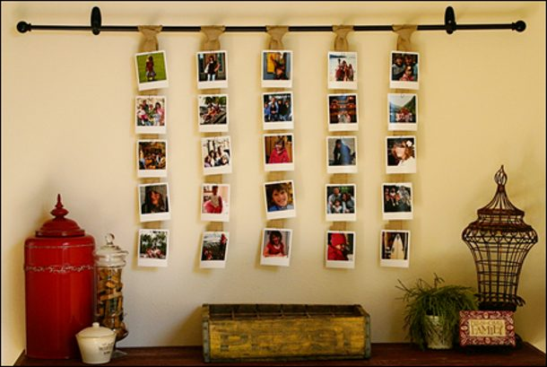 full size polaroid display by the daily digi