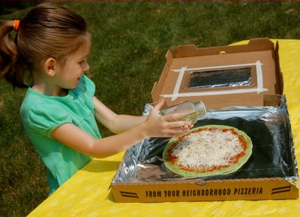 Outdoor diy summer activities for kids for How to build a solar oven for kids