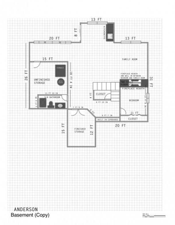 Easily make a floor plan using the LivingRoom App on an iPad!