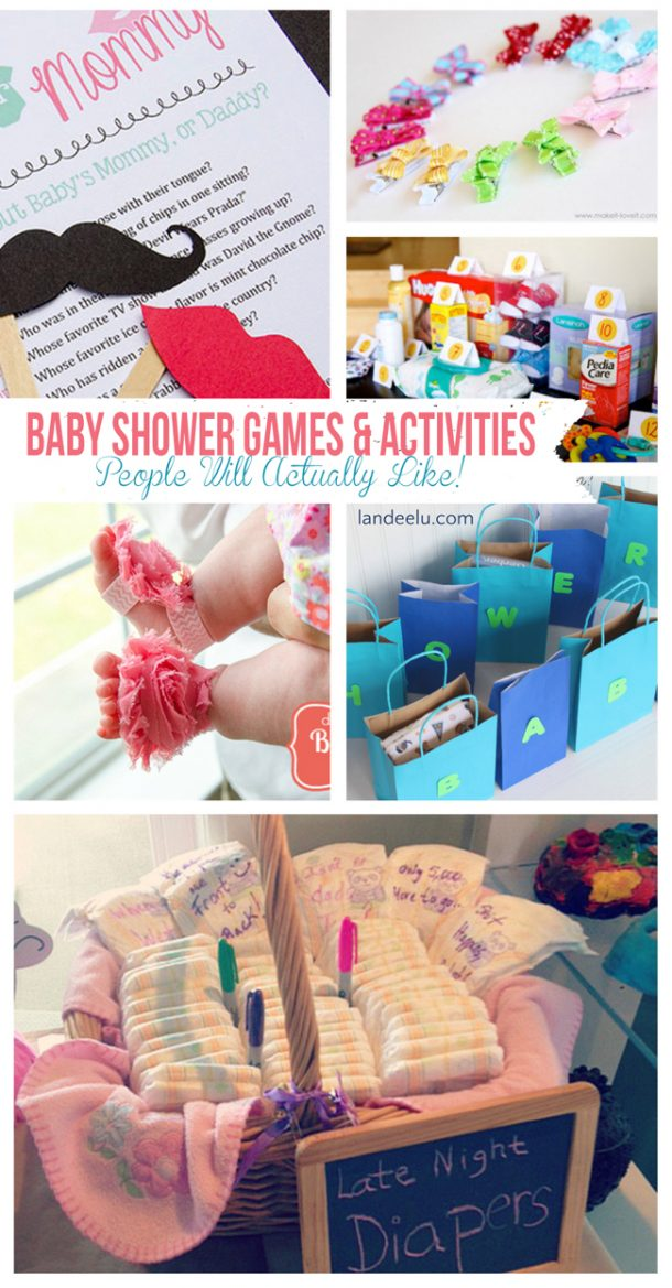 Baby Shower Games and Activities (that people will actually like!)  | landeelu.com