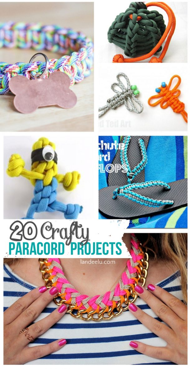 20 crafty paracord projects for Cool things to do with paracord