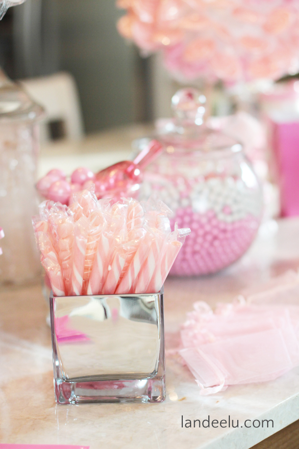 pink and grey baby shower decor and ideas easy and
