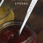 Custom-Stamped Condiment Spoons