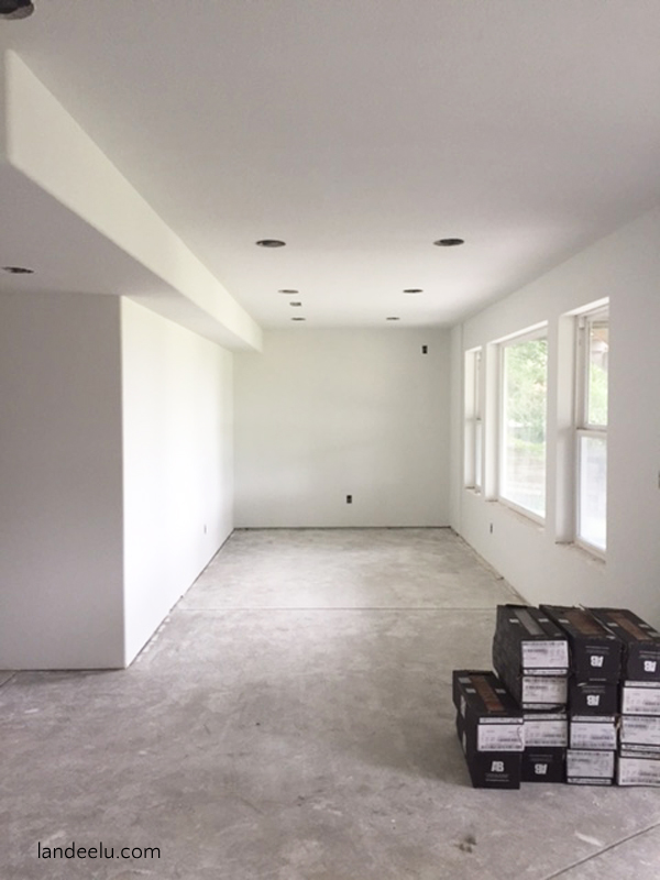 finish a basement bathroom install and wire the exhaust fan picture