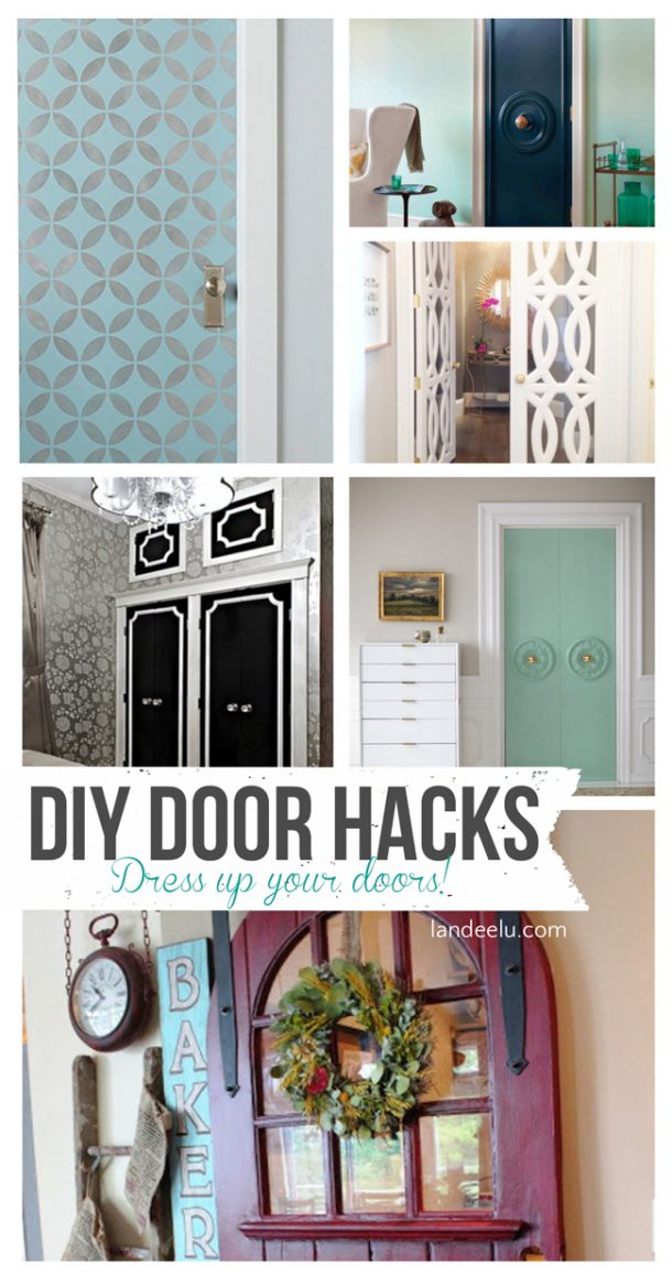 diy interior door hacks. Black Bedroom Furniture Sets. Home Design Ideas