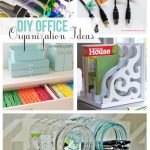 DIY Office Organization Ideas