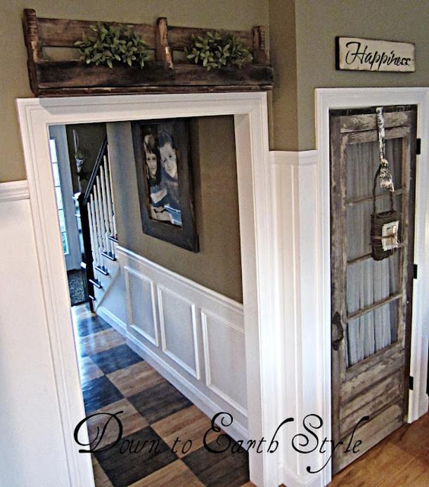 Interior Door Diy Ideas: DIY Interior Door Hacks