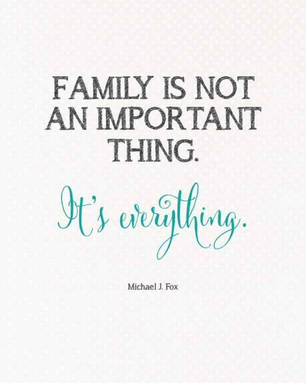 Family Is Everything Quote Landeelu Com