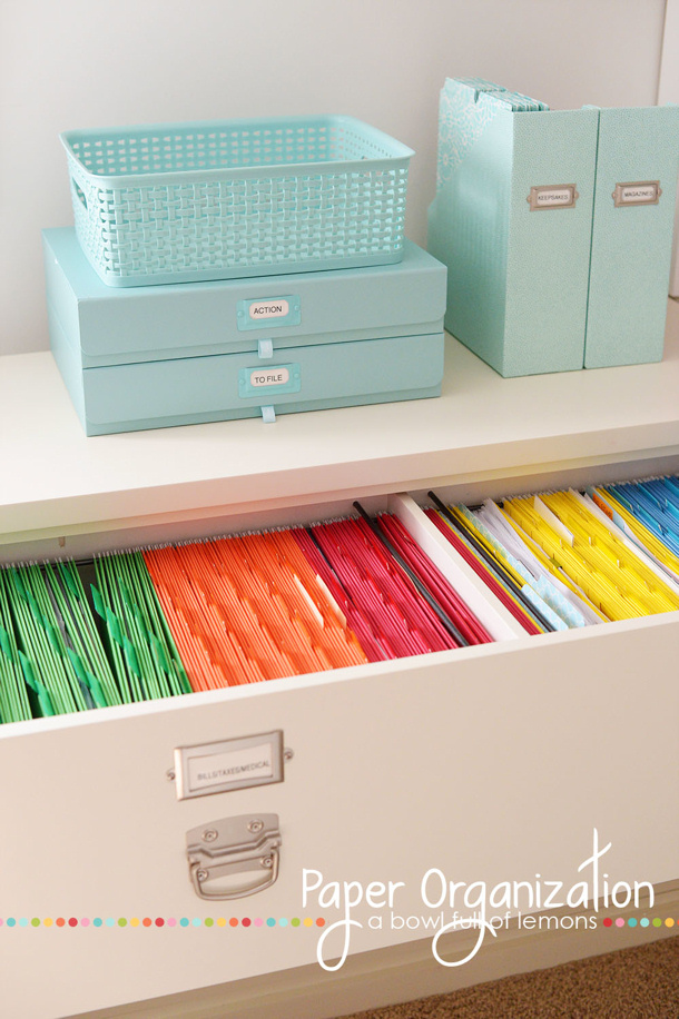 Diy office organization ideas for Office organization tips and ideas