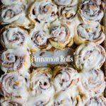 A fool-proof cinnamon roll recipe for those homemade cinnamon rolls everyone loves!